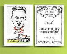 Partick Thistle Charlie Busby 25 (FC)